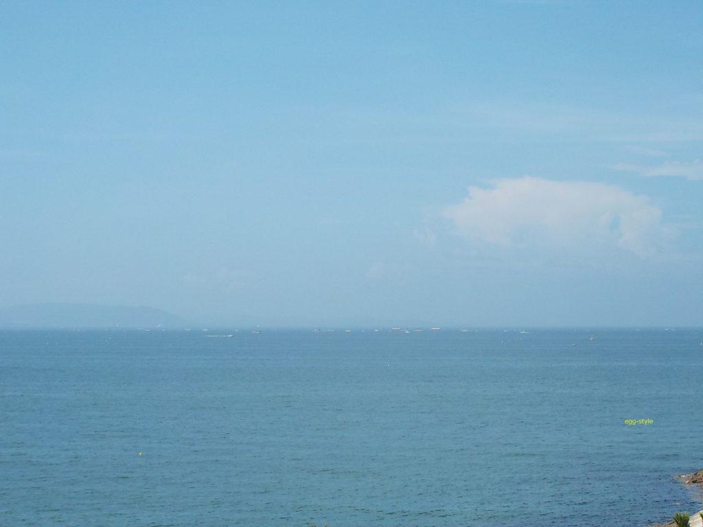 明石江井島の海