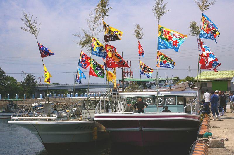 海苔漁の新造船