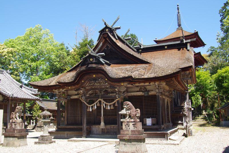 柏原天満宮、重要文化財の本殿