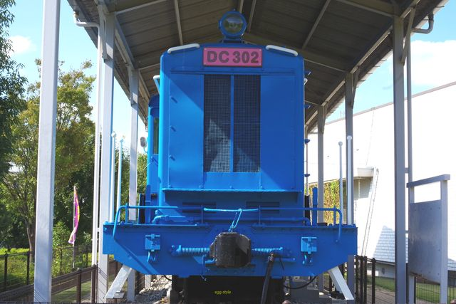 別府鉄道静態保存車両:DC302