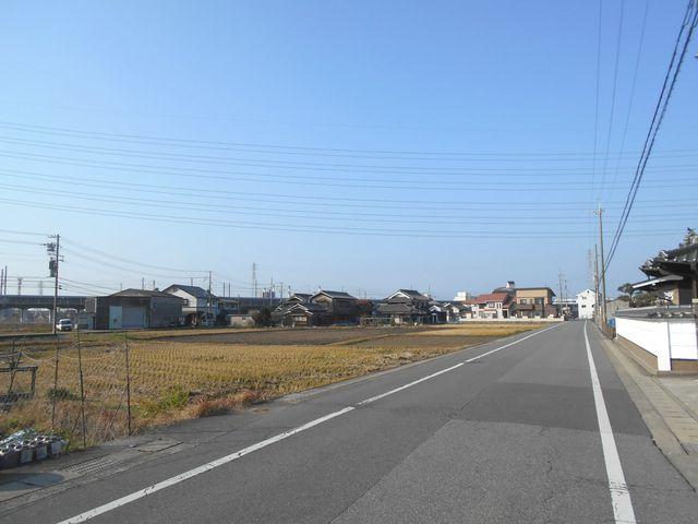 別府鉄道廃線跡を歩く:再び田園風景を歩く