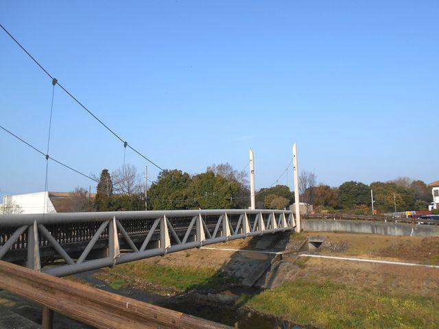 別府鉄道廃線跡を歩く:ふるさと橋