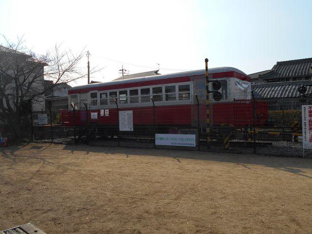 別府鉄道廃線跡を歩く:円長寺公園