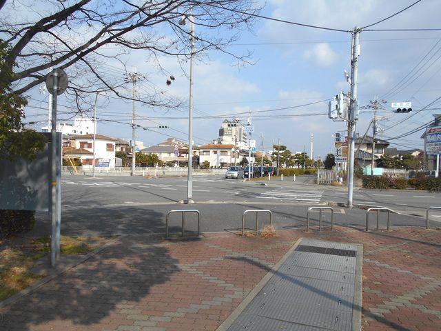 別府鉄道廃線跡を歩く:鶴林新道にでる