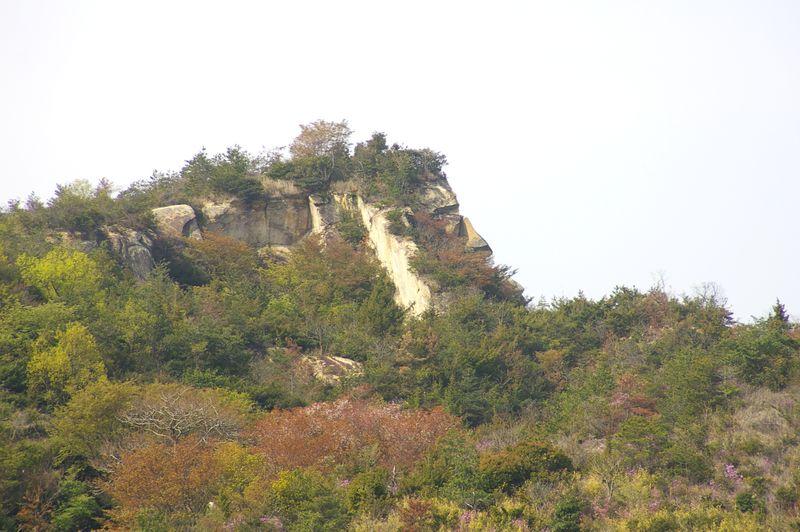 ゴリラ岩は、この方向だけに見える