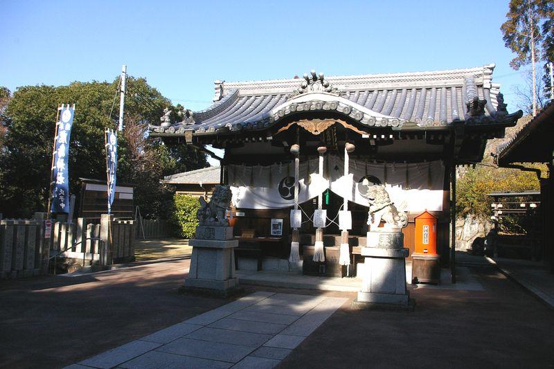 鹿島神社のお社 創建は江戸時代初期で、由緒ある神社