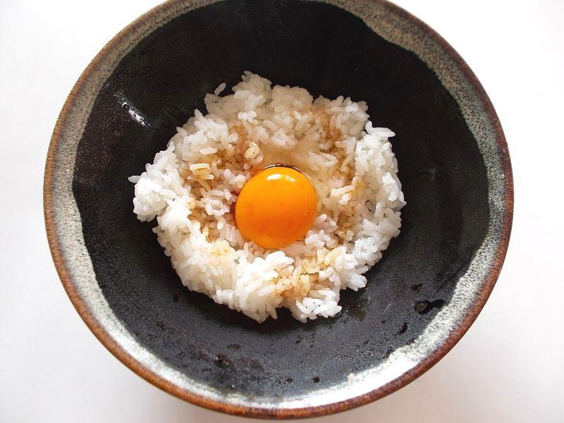 ご飯 卵の黄身 醤油 たったこれだけで、こんなにおいしい