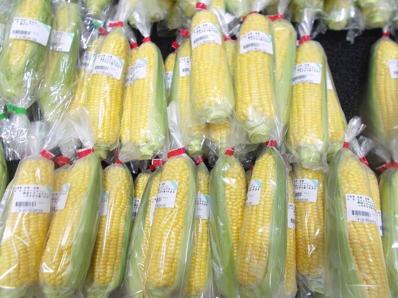 旬になると、売場中がトウモロコシになるような収穫量