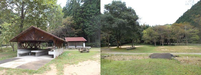 三国公園鳥羽キャンプ場 昔の雰囲気のフリーサイト お弁当食べるのに立ち寄り