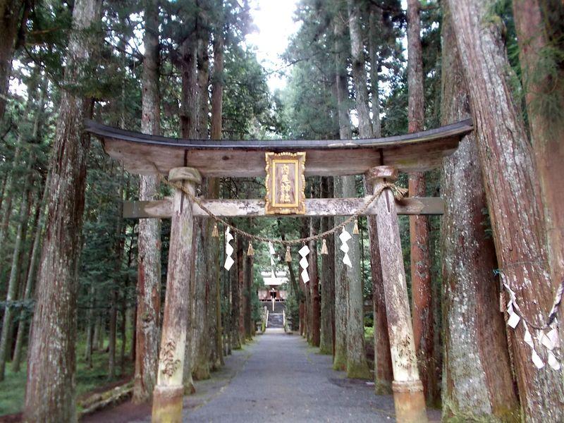 内尾神社 鳥居