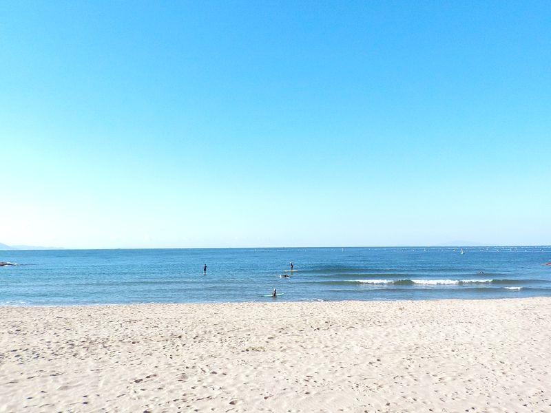 明石市松江海岸 多くの砂浜がある海岸が明石市の特徴