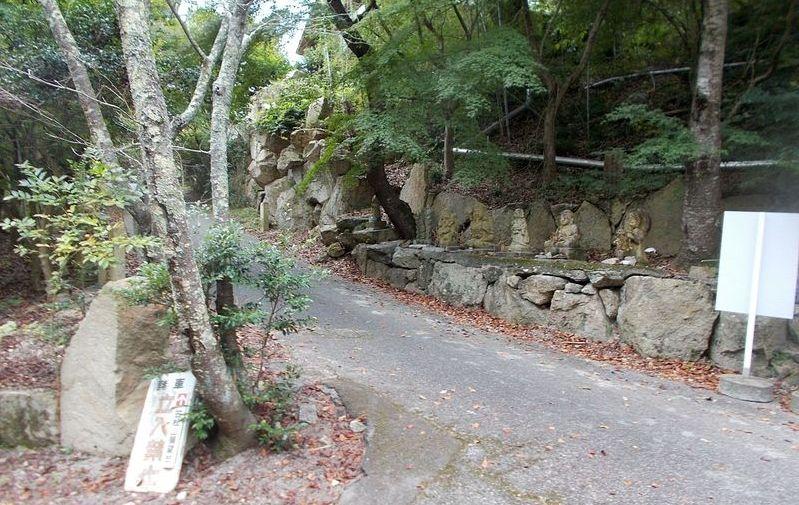 古法華寺登山口 ここから山頂の展望台へ向かいます